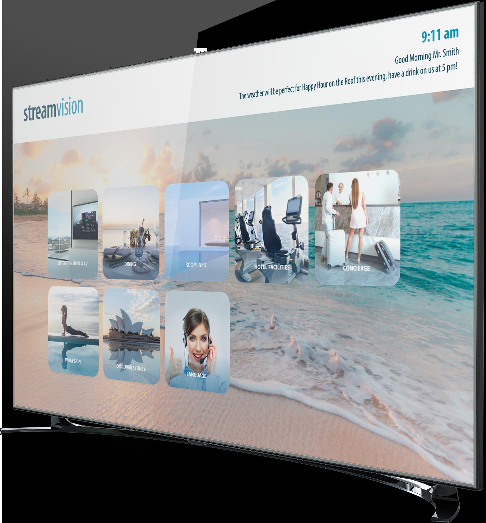 Bespoke TV Portal